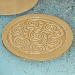Celtic Swirl biscuit stamp